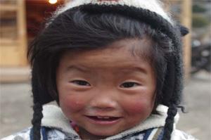 Nepal girl Annapurna Base Camp Trek