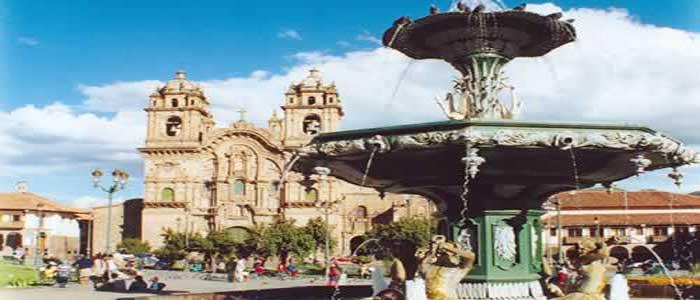 Cusco plaza peru