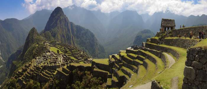 Machu Picchu panoramic view