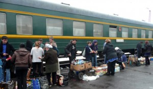 Trans Monglian railway market