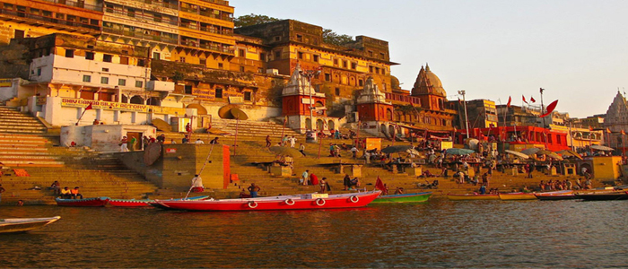 sun rise in varanasi diu india Deserts Palaces Ganges tour 13 Days