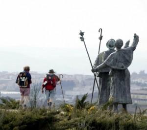 Camino de Santiago statues