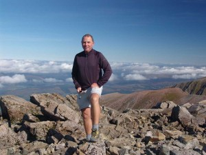 Me at top of Ben Nevis