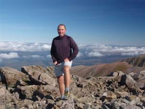 Me at top of Ben Nevis
