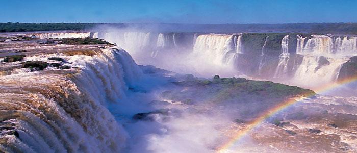 Wonders of South America Iguazu falls