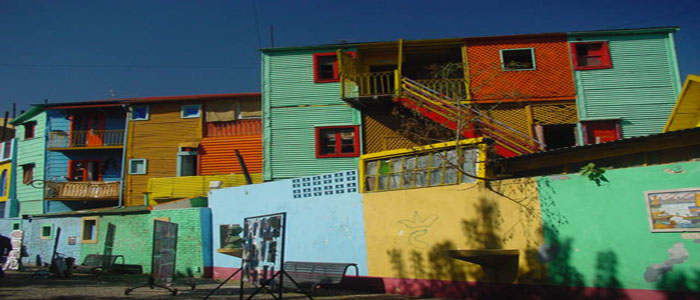 Cycle Argentina Chile La Boca Buenos Aires