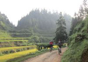 Cycle China 15 days back road