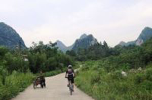 Cycle China 15 days road