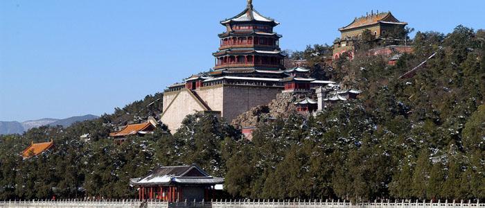 Summer Palace Beijing panorama