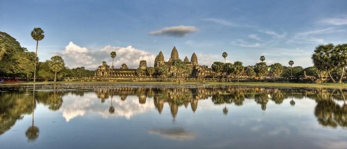Angkor Wat Temple entrance