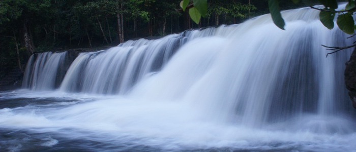 Kulen Waterfalls Cambodia