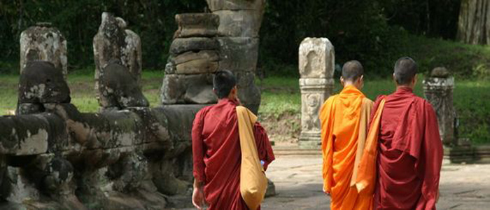 Three Monks Cambodia