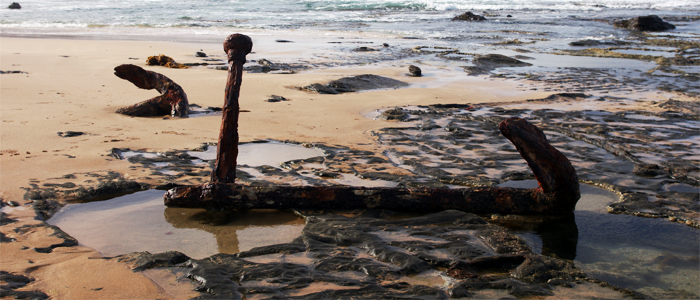 great ocean walk blog Anchor at Wreck Beach