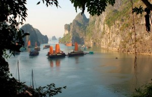 Indochina heritage tour halong bay boats