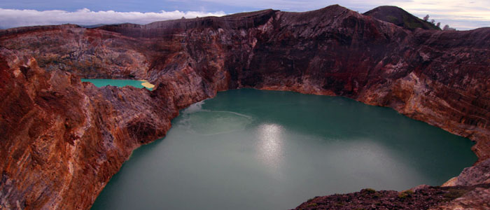 Crater Lakes at Mount Kelimutu