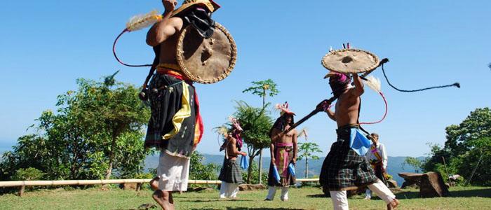 Flores Caci Dance in Manggarai