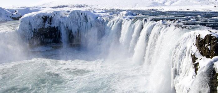 Guided Iceland Circle godafoss waterfall 1