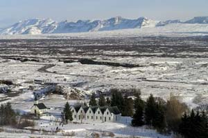 Iceland Northern Lights Explorer thingvellir national park winter-4