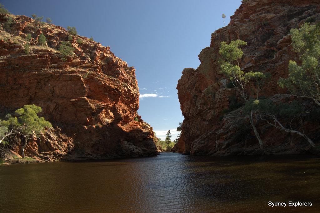 Ellery Creek Larapinta Trail Sydney Explorers
