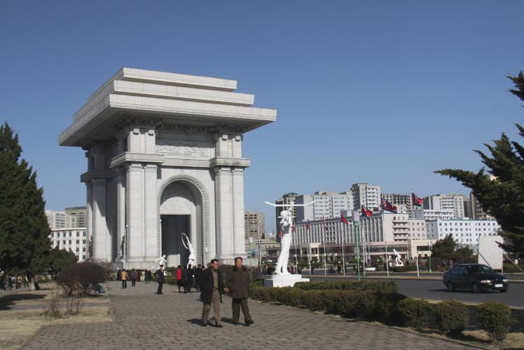 arch-triumph-north-korea