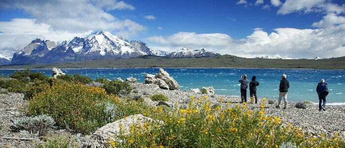 Torres del Paine enjoying the views 3