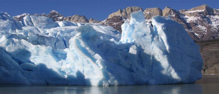 Torres del Paine glacier