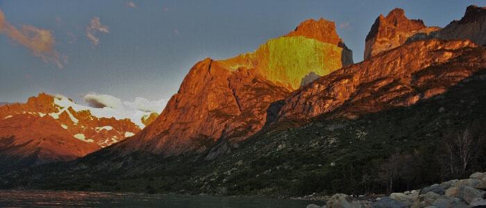 Torres del Paine scenery
