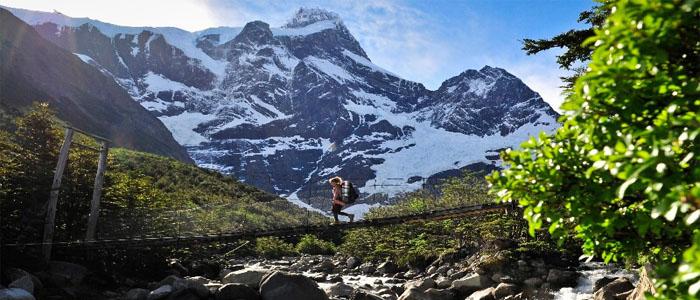 Torres del Paine suspension bridge