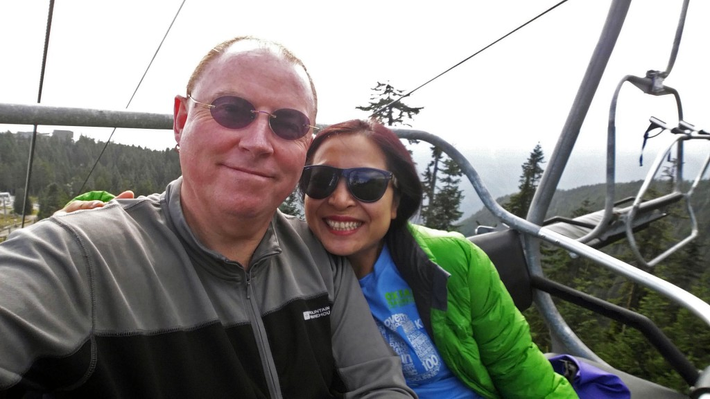 Grouse Grind chair lift