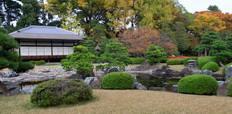 Nijo_castle_in_colorful_leaf_and_tree_in_japan_Koyo