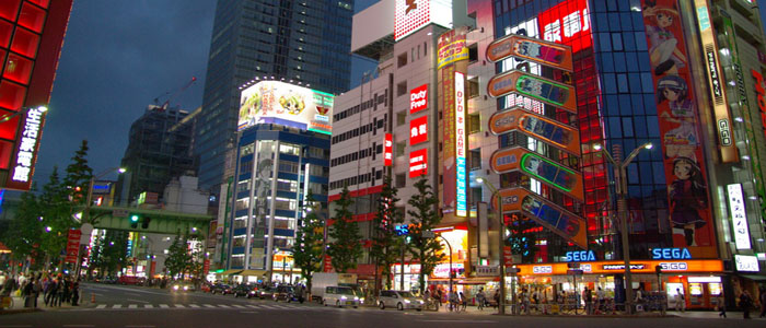 Japan at a glance-akihabara