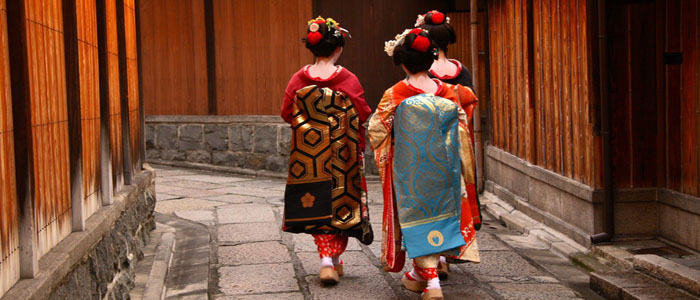 Japan Honeymoon Maiko girls
