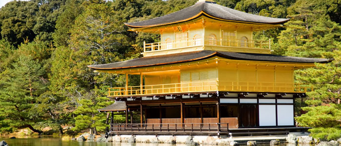 Japan at a glance-golden_pavilion_kinkaku_kyoto