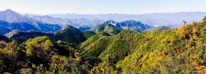 Kumano Kodo mountain view