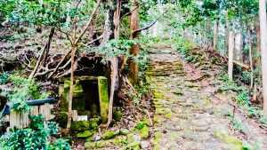 Small shrine on the Kumano Kodo