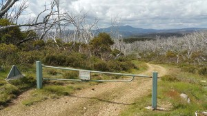 Start of Round Mountain Trail