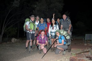 Early morning start from Ormiston Gorge